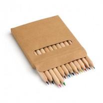 12 Lápis de cor personalizado - LAP35