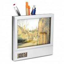 Porta retrato c/ relógio personalizado - PRR02