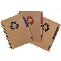 Caderneta eco personalizada - CDE10
