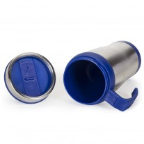 Caneca inox com tampa personalizada - CNT27