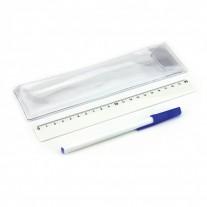 Conjunto de caneta e régua - CJP05