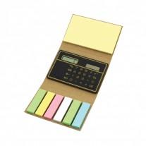 Bloco de anotações com Calculadora - BLA64