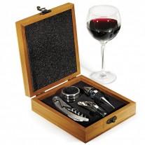 Kit vinho 4 peças personalizado - KVI23