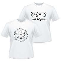 Camiseta branca ECO personalizada - CMS01