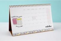 Calendário de Mesa Personalizado - CAI09