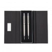Conjunto de caneta e lapiseira personalizadas - CJM47