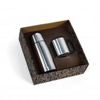 Kit squeeze e caneca inox - KGT07