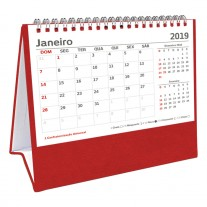 Calendário de mesa personalizado - CAI12