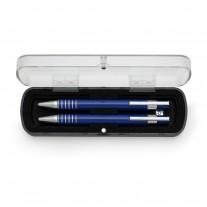 Conjunto de caneta e lapiseira personalizado - CJM18