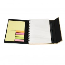 Caderno com post-it ECO - CDP08