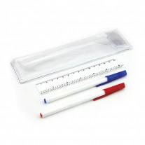 Conjunto de canetas e régua - CJP06
