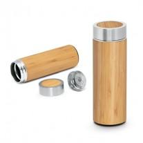 Garrafa Térmica em Bambu Personalizada - GFT17