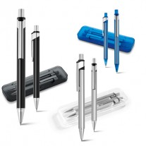Kit caneta e lapiseira personalizadas - CJM30