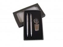 kIt com Caneta Lapiseira Canivete Chaveiro Personalizado - KIM04