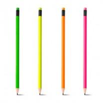 Lápis neon personalizado - LAP39