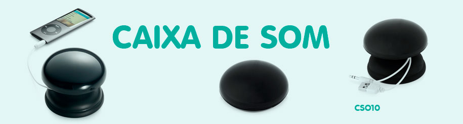 CAIXA DE SOM PERSONALIZADA