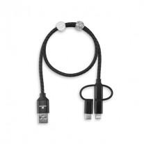 Cabo USB com cristais Swarovski -CRD52