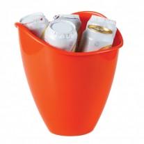 Balde plástico personalizado - BAL04