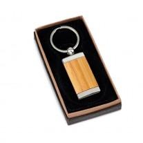 Chaveiro em Bambu Personalizado - CME137