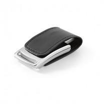Pen drive em couro 8GB personalizado - PED49